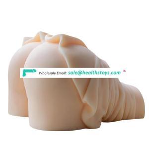 Sex Silicone Big  Fat Ass Pussy Butt Female Body Toy For Man Masturbator