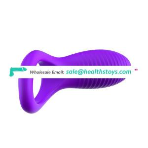 Sex Toy For Man Silicone Cock Ring Vibrator Boy Gay Cock Ring