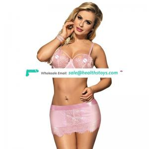 Sexy Women Hot Designer Stylish Transparent Bra Panty Set