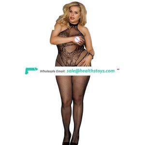 Sexy mature fashion girl lingerie bodystocking pantyhose