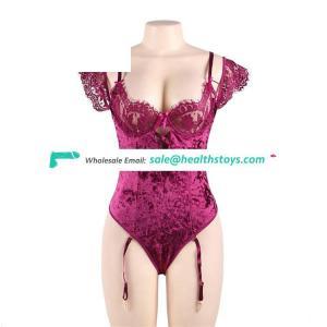 Sexy nice plus size mature tube lingerie dress
