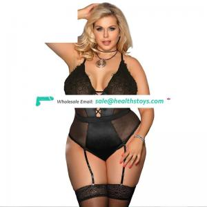 Sheer wholesale sexy teddy lingerie bodysuit