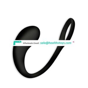 Silicone Anal Sex Toys Butt Plug with Penis Ring