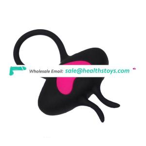 Silicone Cock Ring Vibrator For Man