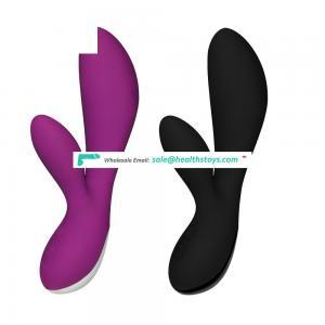 Silicone Waterproof G Spot Vibrator Adult Novelty Sex Toy for Women Masturbator Female Vagina Body Wand Massage Rabbit Vibrator