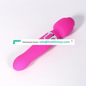 Small Order Accept Top Sales Women Vibrating Dildo With Dual Motor