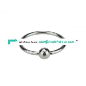 Stainless Steel Cock Ring Round 25mm/30mm Time Delay Penis Rings