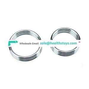 Stainless Steel Cock Ring Wheel Ring of Cock Large Metallic Penis-Ring