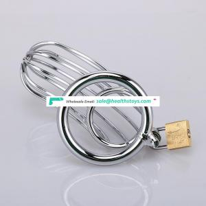Stainless Steel Male Chastity Device Cock Short Cage Male Chastity Cage Small Chastity Belt Adult Game Sexy Bondage Bdsm
