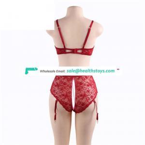 Stylish young sexy girl panty bra set
