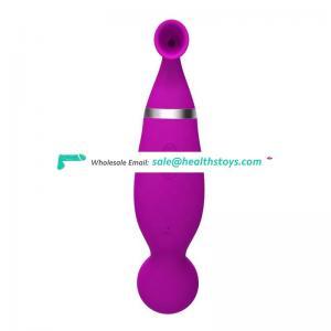 Sucking Clitoris Massager Nipple Stimulator G-spot Vibrator For Woman