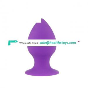 Three Size Anal Butt Plugs Set for Beginners Made of 100% Medical Silicone Body Safe Anal Toys