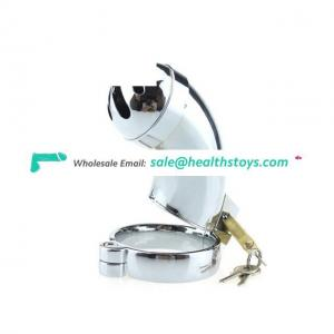 Top Alloy Metal Male Chastity Cages Cock Cage Virginity Lock