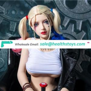 Tpe silicone sex doll toy baby for thick