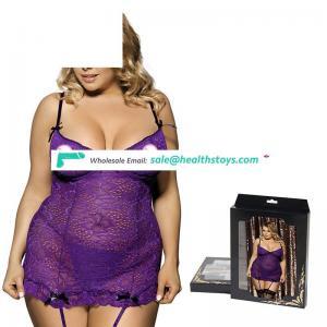 Transparent dress sleepwear dress big hip girl arab women sexy lingerie