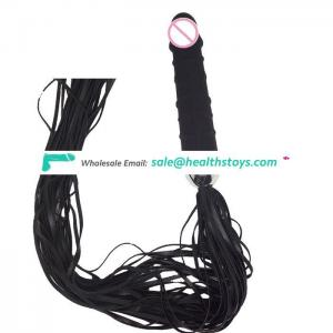 Trendy Sex Toy Giant Dildo with Whips