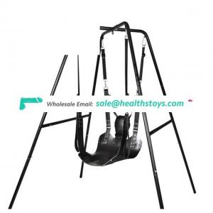 Two Layers Leather Bondage Restraint Sling Adult Hammock Swing Chair Leather Bed Hammock Adult Game Toy