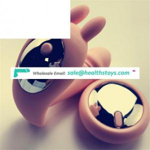 USB Rechargeable 10 Speeds Cute Wireless Remote Silicone Wearing Vibrator Anal Plug