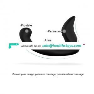 USB Rechargeable 9 Speed Vibrating Anal butt plugs Male Prostata Massager Vibrator