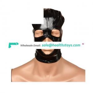 Unisex Soft Headgear Mask Bondage Hood Fetish Hood Bondage Restraints For Couples