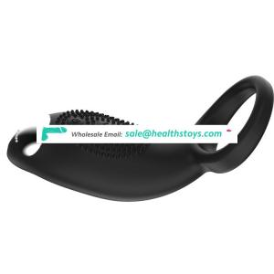 Usb Direct Charge Silicone Waterproof Vibrating Delay Cock Ring