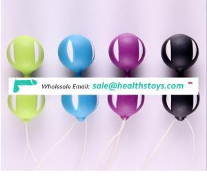 Vibrating eggs Jump eggs Silicone Waterproof Vibrator Kegel Balls Exercises Sex Adult Product For Women
