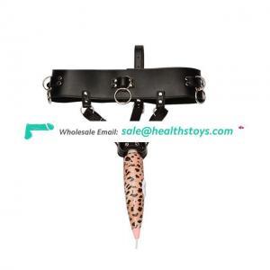 Vibrator Massage Pant With Dildo Harness Belt Panties