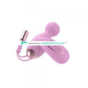 Wartorproof 8 Speed Wireless USB Pink Egg Vibrator for Female Masturbation