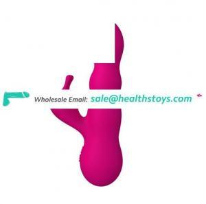 Waterproof G Spot Vibrator Silicone Rabbit Vibrator for women