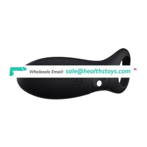 Waterproof Silicone Cock Ring Vibrator For Male