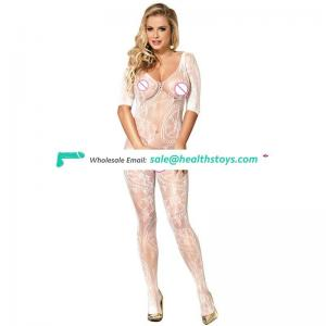 White hot sale new design body stocking suit
