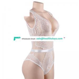 White lace sexy underwear bodysuits hot teddy lingerie