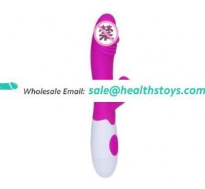Wholesale 9 inch Silicone Vibrator For Female Masturbation Best Body Massager