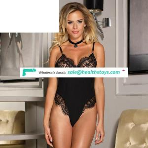 Wholesale Black Hot Sexy Mature Women Sexy Teddy Lingerie