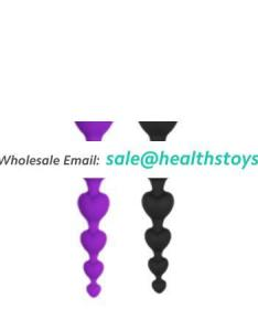 Wholesale Butt Plug Anal Sex Toys Non Electric Silicone Made Cheap Price Sex Anal Plug