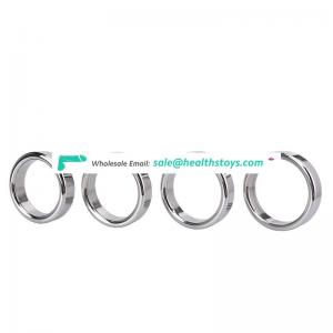 Wholesale Cheap Price Male Sexy Toy Stainless Steel Cock Ring Penis Ring Penis Enlargement