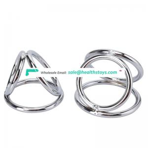 Wholesale Cock Ball Ring Hardware Magnetic Cock Ring Medical Use for Male Free Sample