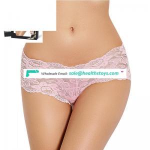 Wholesale Colorful Young Girl Wearing Underwear Transparent Ladies Panties Models