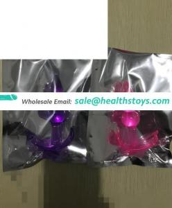 Wholesale Factory Price Popular PVC Anal Plug 3 Beads Stand Up Homemade Sex Toys