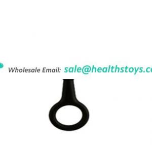 Wholesale Factory Price Popular Silicone Anal Plug Beads Stand Up Homemade Sex Toys