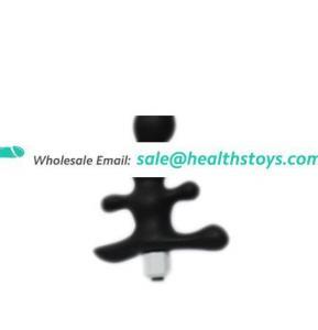 Wholesale Homemade Anal Plug Sex Toys Anal Vibrator Butt Plug Silicone Made Cheap Price Flashing Light Anal Butt Plug