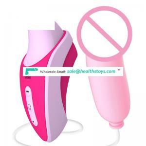 Wholesale Hot sale Clitoral Suction Vibrator  Breast Nipple Sucking Stimulator with 7 Vibration Modes  vagina vibrator