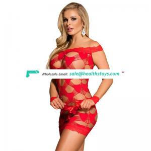 Wholesale Lace Mature Red Lady Fantasy Sexy Lingerie
