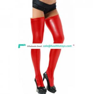 Wholesale Red Tube Christmas Leather Stocking