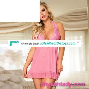 Wholesale Rose Babydoll Women Transparent Adult Sexy Lingerie
