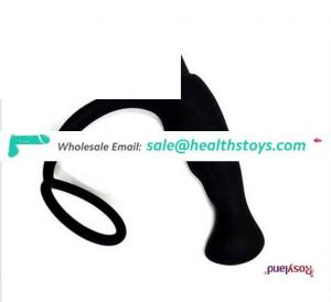 Wholesale Silicon Anal Plug with vibrator Silicone Anal Beads Hot Selling for Female