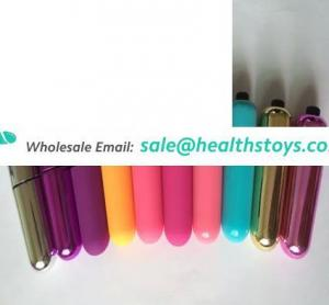 Wholesale Silicone Anal Plug bullet Hot selling Sex Toys Vibrating Anal Plug Bullet
