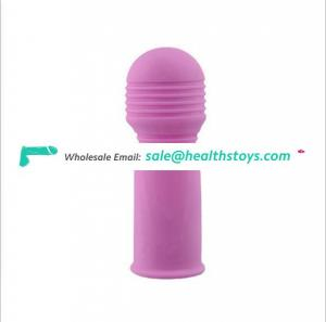 Wholesale Silicone Finger Sleeve Vibrator Bullet Electric Shock Factory Cheap Price Sex Toys For Female