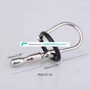 Wholesale Stainless Steel Male Chastity Device Male Urethral Dilator Adult Game Sex Toys BDSM