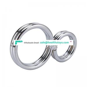 Wholesale Stainless Steel Metal Hardware Magnetic Cock Ring Medical Use for Male Free Sample